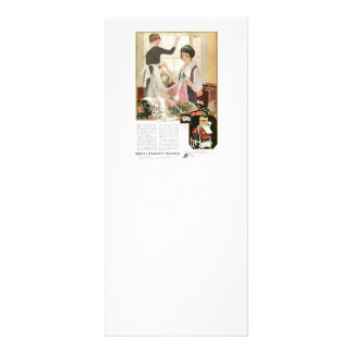 New Washing Machine Mother and Daughter Rack Card