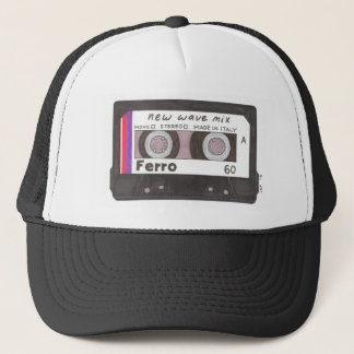 New Wave Cassette Tape Trucker Hat