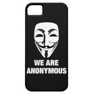 < New!! >WE ARE ANONYMOUS★iPhone Case