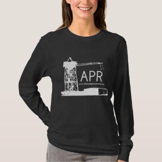New women's APR logo long sleeve shirt