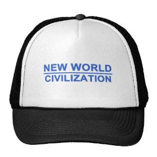 New World Civilization Trucker Hat