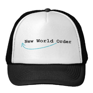 New World Order Cap Trucker Hat