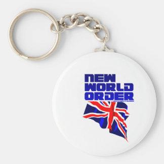 New World Order Keychain