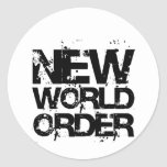 New World Order Stickers