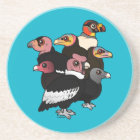 New World Vultures Coaster