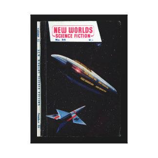 New Worlds 034 (1955-04.Nova)_Pulp Art Canvas Print