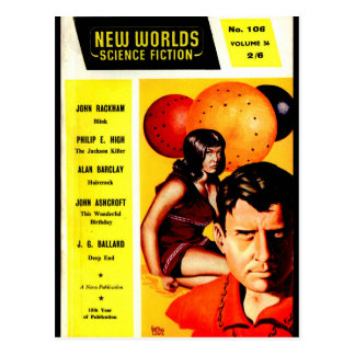 New Worlds 106 (1961-05.Nova)_Pulp Art Postcard