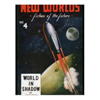 New Worlds 4_Pulp Art Postcard