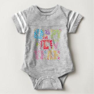 new year2 baby bodysuit