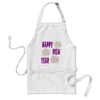 new year5 standard apron