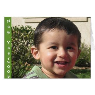 New Year 2008 Card