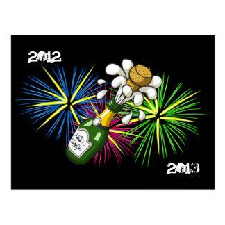 New Year 2012-2013 Postcard