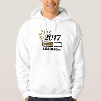 New year 2017 loading hoodie