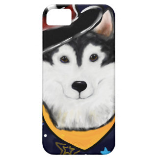 New Year Alaskan Malamute iPhone 5 Case