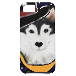 New Year Alaskan Malamute iPhone 5 Cover