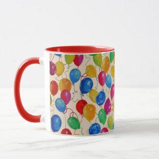 New Year Balloons Mug