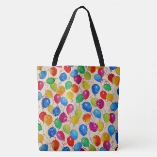 New Year Balloons Tote Bag