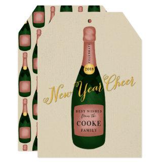 NEW YEAR CHEER CARD