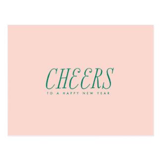New Year CHEERS Postcard