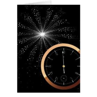 New Year Firework Card
