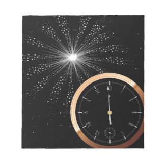 New Year Firework Notepad