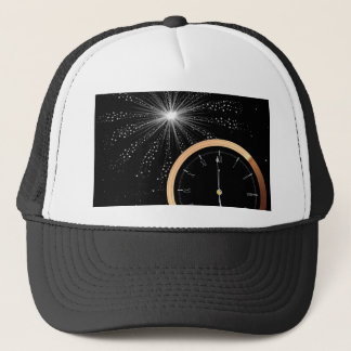 New Year Firework Trucker Hat