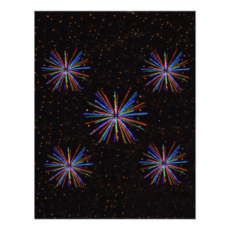 New Year Fireworks  4th of July 2016 Letterhead