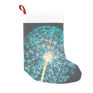 New year fireworks small christmas stocking