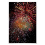 New Year Fireworks Sparkles Poster