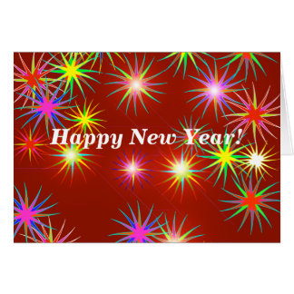 New Year Flash Card