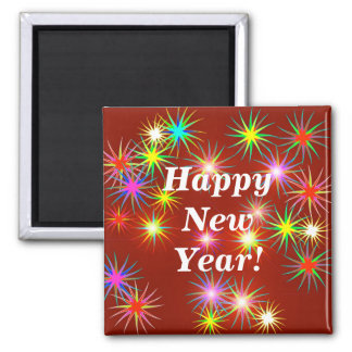 New Year Flash Magnet