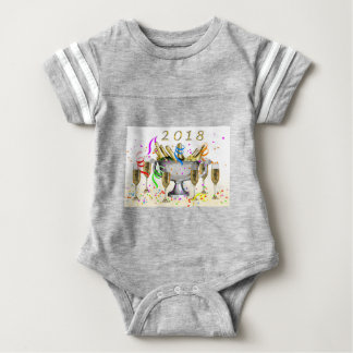 New Year Gifts Baby Bodysuit