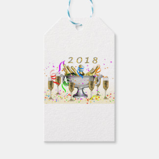 New Year Gifts Gift Tags
