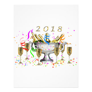 New Year Gifts Letterhead