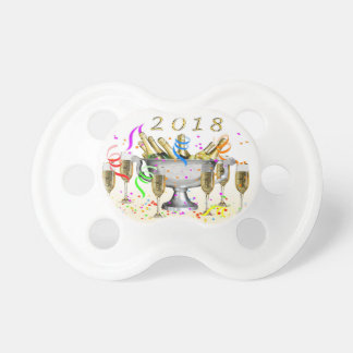New Year Gifts Pacifier