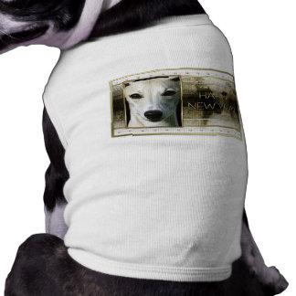 New Year - Golden Elegance - Whippet Pet Tee Shirt