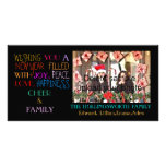 New Year Holiday Greetings Personalized Photo Card