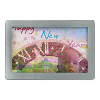 New Year is coming soon Rectangular Belt Buckle