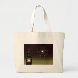 New Year Large Tote Bag
