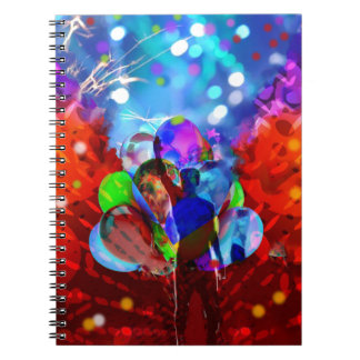 New year New Life. Spiral Notebook