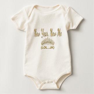 New Year, New Me LOL JK Baby Bodysuit