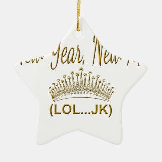 New Year, New Me LOL JK Ceramic Ornament