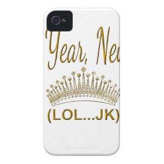 New Year, New Me LOL JK iPhone 4 Cover