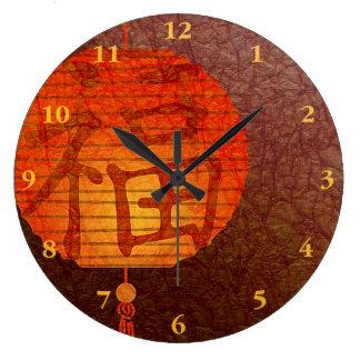 New Year Paper lantern Large Clock