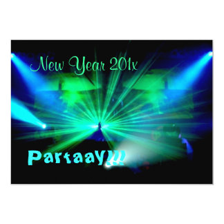New Year Partaay!!! invitation