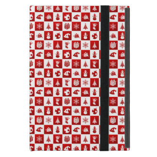 New Year pattern. Red and White. 2018. Case For iPad Mini