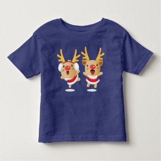 New Year Pig Christmas Deer Toddler T-shirt