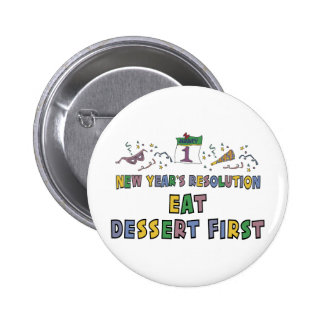 New Year Resolutions Funny Gift 2 Inch Round Button