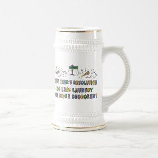 New Year Resolutions Funny Gift Mug