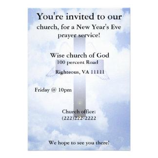 New Year s eve prayer Invitation